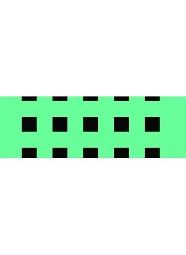 Artikel Geometirk Kare Çizgiler-2 Runner Masa Örtüsü 43,5x141,5cm Renkli